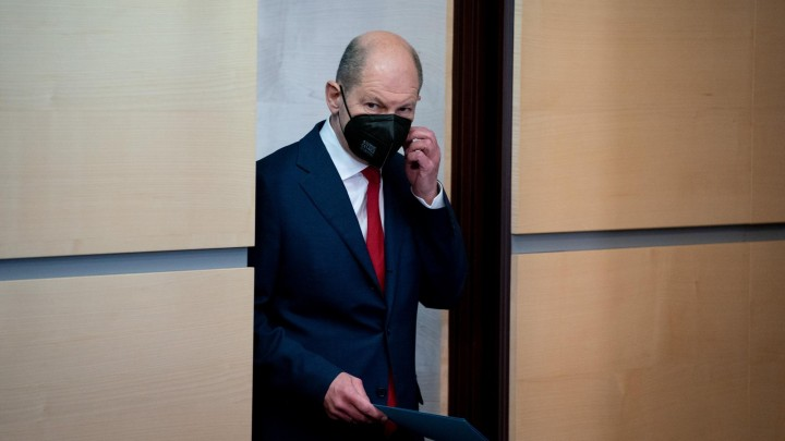 Olaf Scholz (SPD) (picture alliance / dpa / Kay Nietfeld)