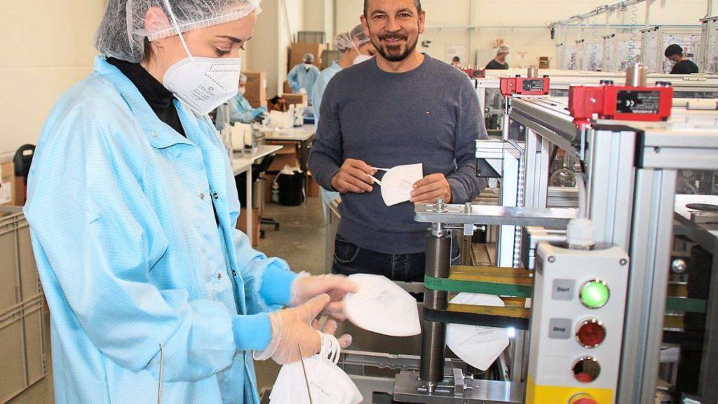 Associazione dei produttori di maschere: Univent Medical, una società con sede a Schwenningen, è un membro fondatore - Villingen-Schwenningen e la regione circostante.