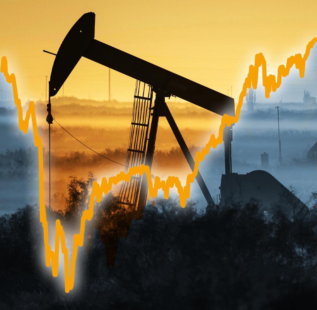 Sorprendentemente succede poco in tutto il mondo senza petrolio.  Ora il prezzo sta salendo di nuovo