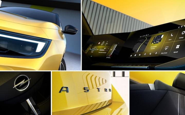 Opel Astra 2021: completamente ridisegnata.