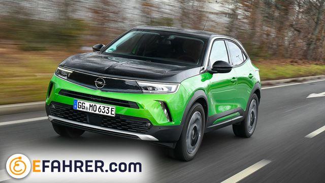 Opel Mokka-e nel primo test: il SUV elettrico più economico della Germania è buono