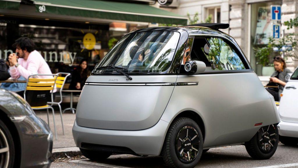 Microlino alla prova: l'Isetta di BMW è basata su un'auto elettrica