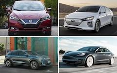 Le migliori auto elettriche di fascia media nel test.