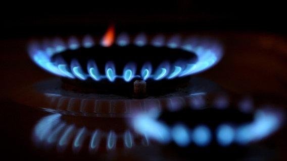 Fiamme su una stufa a gas © dpa - Bildfunk Foto: Karl-Josef Hildenbrand
